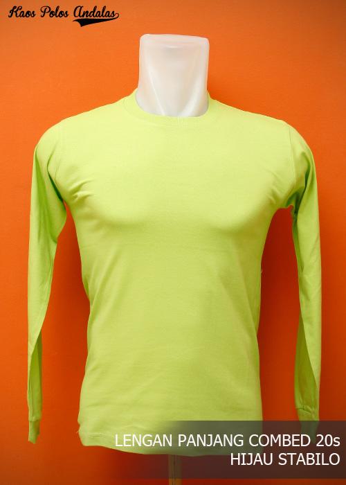 Kaos Polos Lengan Panjang Shirt Distro Terbaik