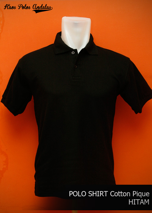 POLO SHIRT POLOS BAHAN COTTON PIQUE SIAP BORDIR  3cef1e662058